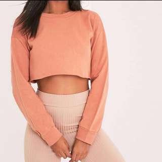 Plt Cropped Sweatshirt