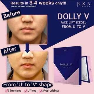 Dolly V Chin Mask