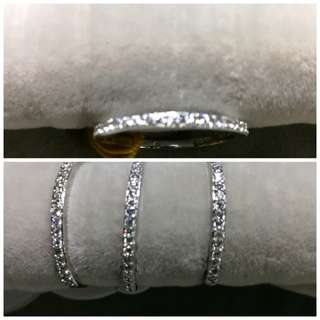 Slim Double Ascent Ring