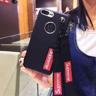 ♥️新品包郵♥️潮牌iPhone各型號手機殼帶掛繩可拆全包iphonex磨砂硬殼防摔