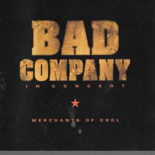 MY CD - BAD COMPANY IN CONCERT ///FREE DELIVERY BY SINGPOST.// (BOX W9)