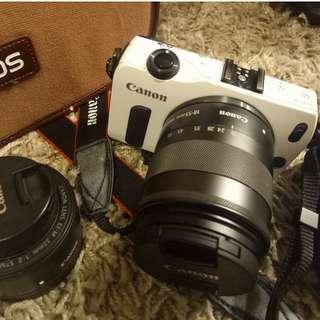 Canon Eos M 雙鏡頭