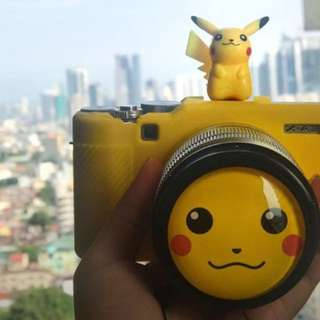 Lens cap 55 mm with stylish cartoon character design