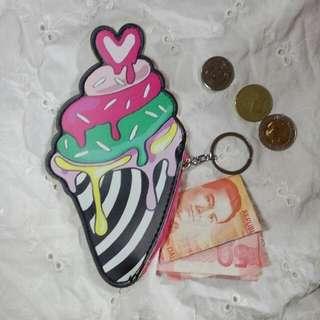 Ice cream Kawaii Wallet