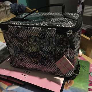Victoria's Secret Lace type Make-up Bag