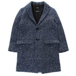 azul by moussy 深藍色 長褸 coat 外套