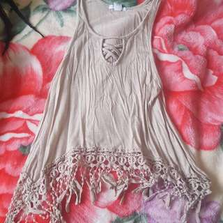 Cute flowy tank top NEW