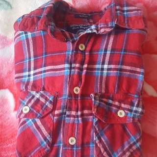 Plaid shirt in good condition