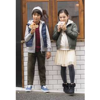 🚚 Uniqlo 男童 女童 保暖長褲 10-11  135-145 輕便長褲 運動長褲