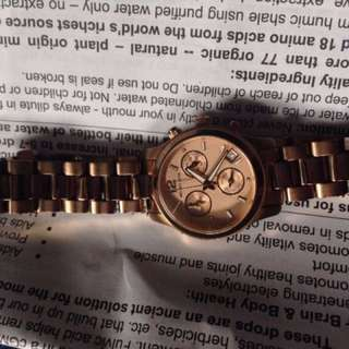 Michael kors rose gold 5430