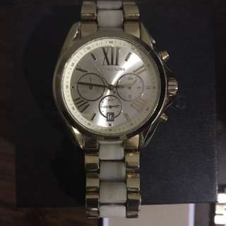 Michael Kors Gold and Oyster women's watch