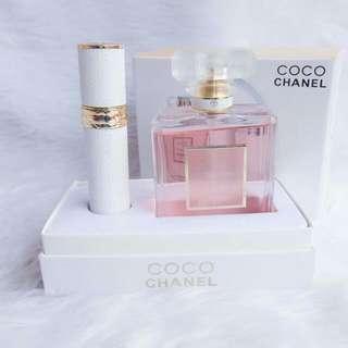 Coco Chanel W/ Atomizer Set