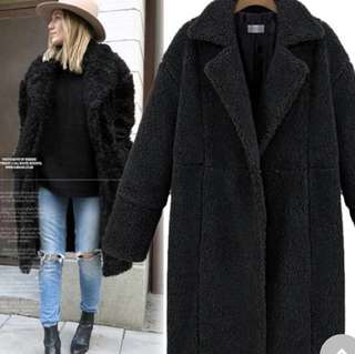 Brand new shearling coat