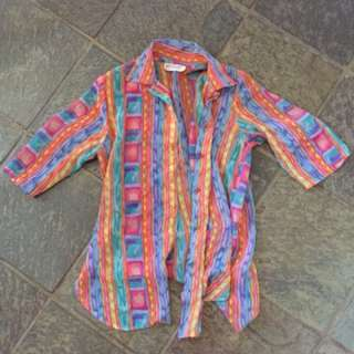 Colourful party shirt
