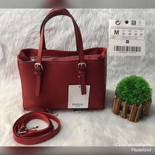 Stradivarius Red Crossbody Bag