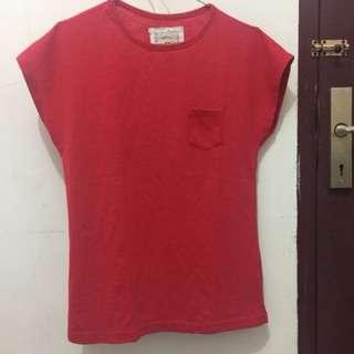 Nevada shirt polos merah