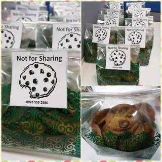 Not for Sharing Cookies - Chocolate Chip