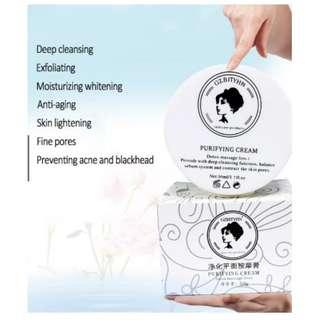 Skin Care Detox Purifying Cream Massage Whitening Face Cream