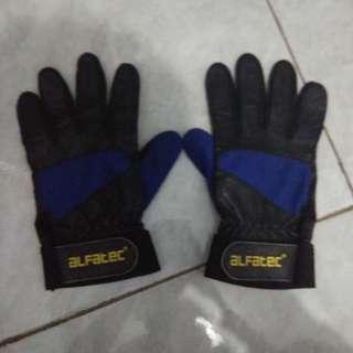 sarung tangan motor kulit