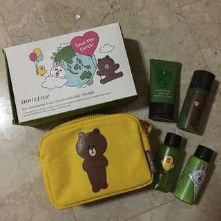 Innisfree Eco-Friendship Green Tea Kit