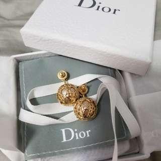 100%real Dior耳環