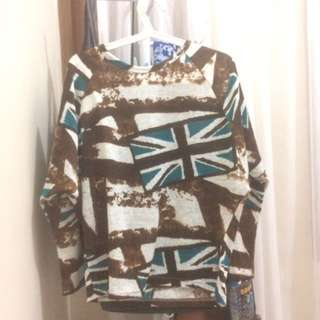 baju/sweater triset