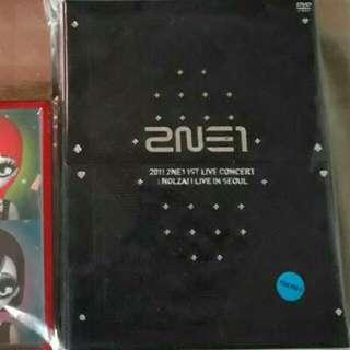 2NE1 1st Live Concert: NOLZA! Live In Seoul DVD