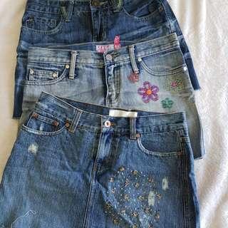 Chic Mini Skirts