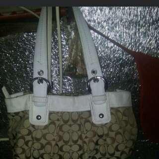 Free ship! Original coach bag