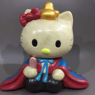 Vintage hello kitty king coin bank