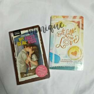 Pop Fiction Books -- A Latte Like Love, Practicing my First Real Kiss