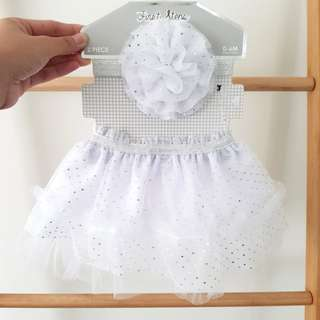 Baby Tulle Skirt and Headband