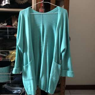 Tiffany藍針織外套
