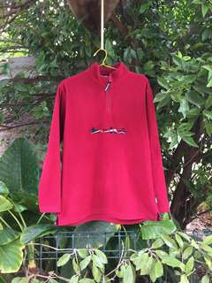 Vintage Bolle Quarter Zip Fleece