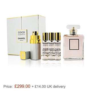 Coco Mademoiselle Coffret Chanel Paris Perfume