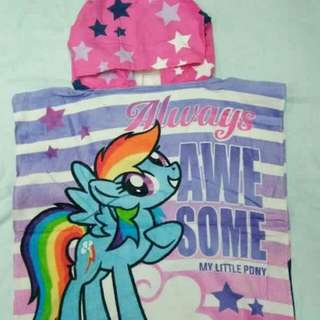 Little Pony Hooded Towel