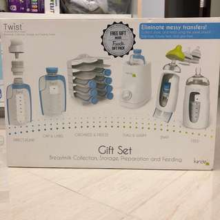 Kiinde twist gift set (wo bottle warmer)