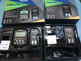 Phottix Odin Transmitter and Receiver TTL for Nikon