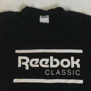 REEBOK BLACK SHIRT
