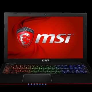 MSI GE60 Apache Pro (POSTPONED)