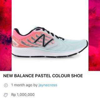 NEW BALANCE LIGHT BLUE SHOE