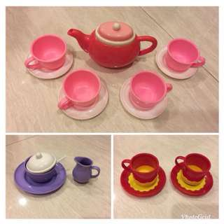 Tea play set (16 pieces)