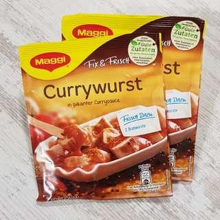 德國Maggi 咖哩腸醬汁粉 Fix & Frisch, 1包2人份量(11/3到港)