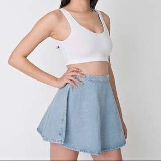American Apparel Denim Circle Skirt
