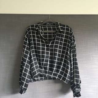 Crop long sleeve Shirt