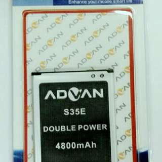 BATTREY BATREI BATRE ADVAN S5P DOUBLE POWER 4800MAH TERMURAH