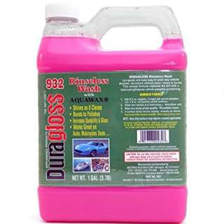 Duragloss #932 No rinse wash with Aquawax