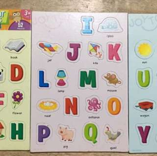 Assorted Puzzles for kids (set of 4)