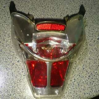 Backlight Motorcycle