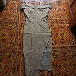 Dress mocca 150 dapat 2